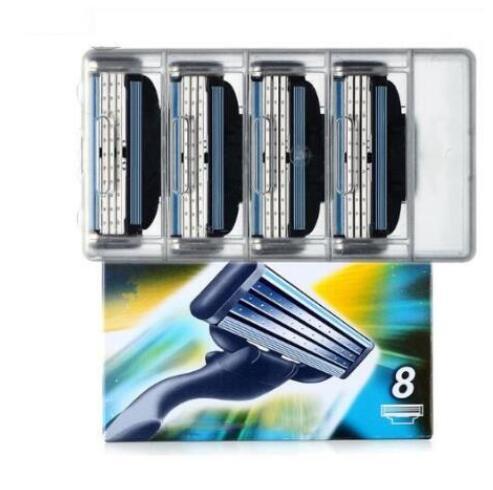 8 unids/pack de los hombres de la maquinilla de afeitar de seguridad...