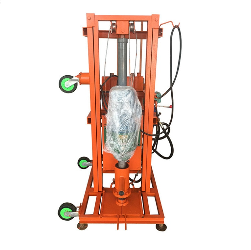 3 KW المحمولة جهاز حفر الآبار المياه آلة Electricd مثقاب نواة الماس فلودينغ آلات حفر الآبار الأرضية