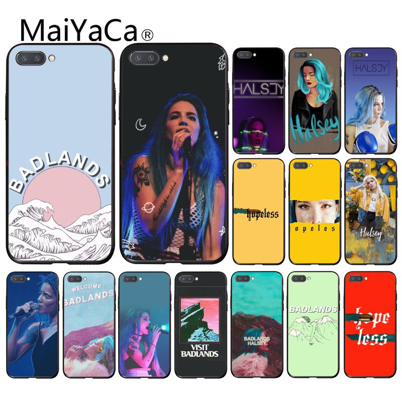 Чехол для телефона Maiyaca Badland Halsey hopeless для Huawei Honor 8X 9 10 20 Lite Honor 7A 7C Honor10i 9X play 8C