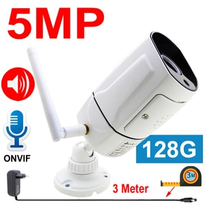 IP Camera Wifi 128G Two-way Voice Outdoor Cctv Security Video Surveillance Cam Infrared Night Audio Wireless HD IR Home Camera