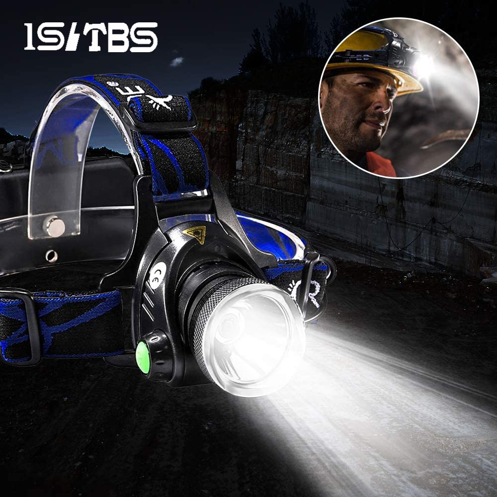 LED Headlamp Super Bright Headlight T6/L2 Outdoors Waterproof Zoomable USB Rechargeable 18650 Batter