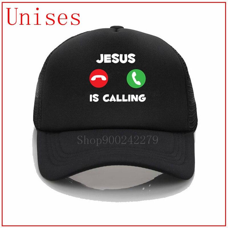 Jesus Está Chamando a Fé Religiosa Cristo Bíblia vida importa Presente branco preto hip hop chapéus para homens best selling 2020 tampas hijab