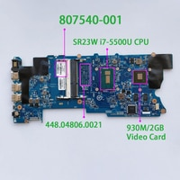 807540-001 807540-501 448.04806.0021 w 930M/2GB i7-5500U for HP X360 CONVERTIBLE 15-W M6-W 15T-W000 PC Laptop PC NB Motherboard