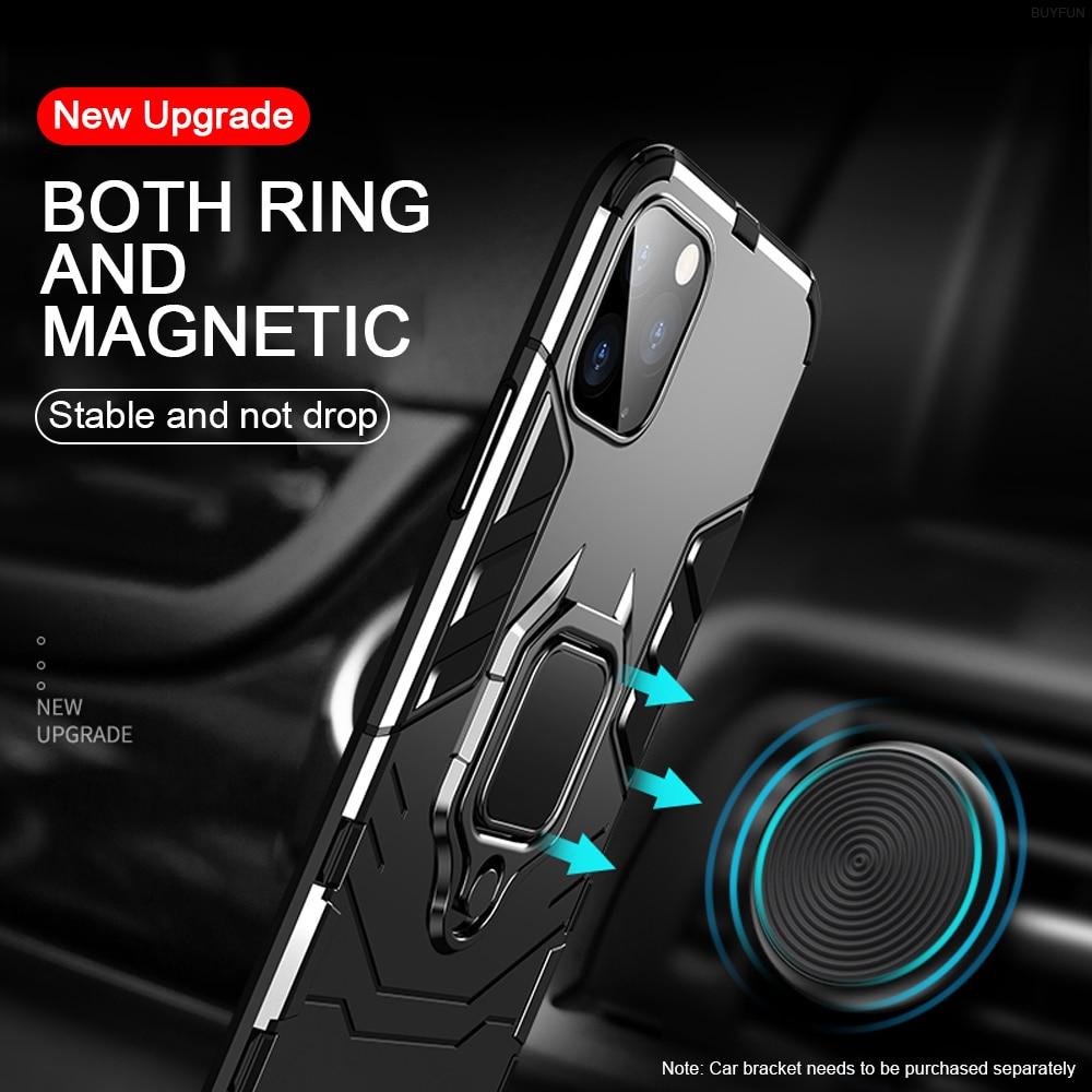 Magnético funda, soporte para iPhone 11 11 Pro 11 Pro Max vengador de hierro de estilo masculino caso para iPhone XS Max XS XR 8X8 7 6s 6 Plus funda