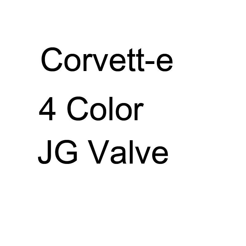 4 tampas de válvula de cor para corvette