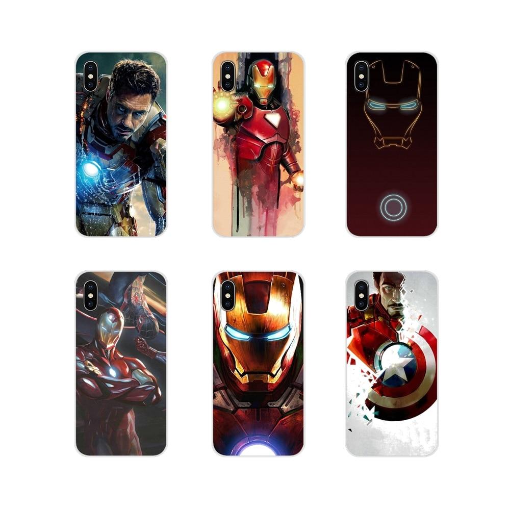 Funda de accesorios para Huawei Mate Honor 4C 5C 5X 6X 7 7A 7C 8 9 10 8C 8X 20 Lite Pro Marvel, todos los Hombre Araña, Avengers Iron Man