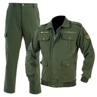 pure cotton camouflage clothing mens wear resistant labor protection jacket pants set welding anti ironing tooling work clothes