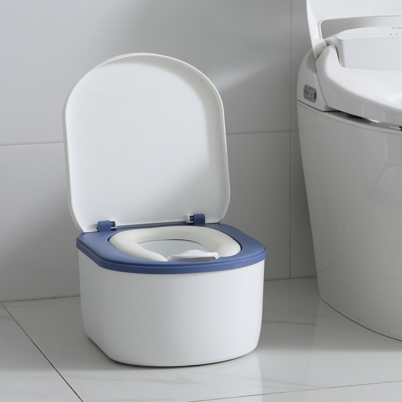Travel Potty Training Seat Portable Toilet Baby Urinals Splash of Urine Separate and Easy To Clean Comfortable Soft Cushion