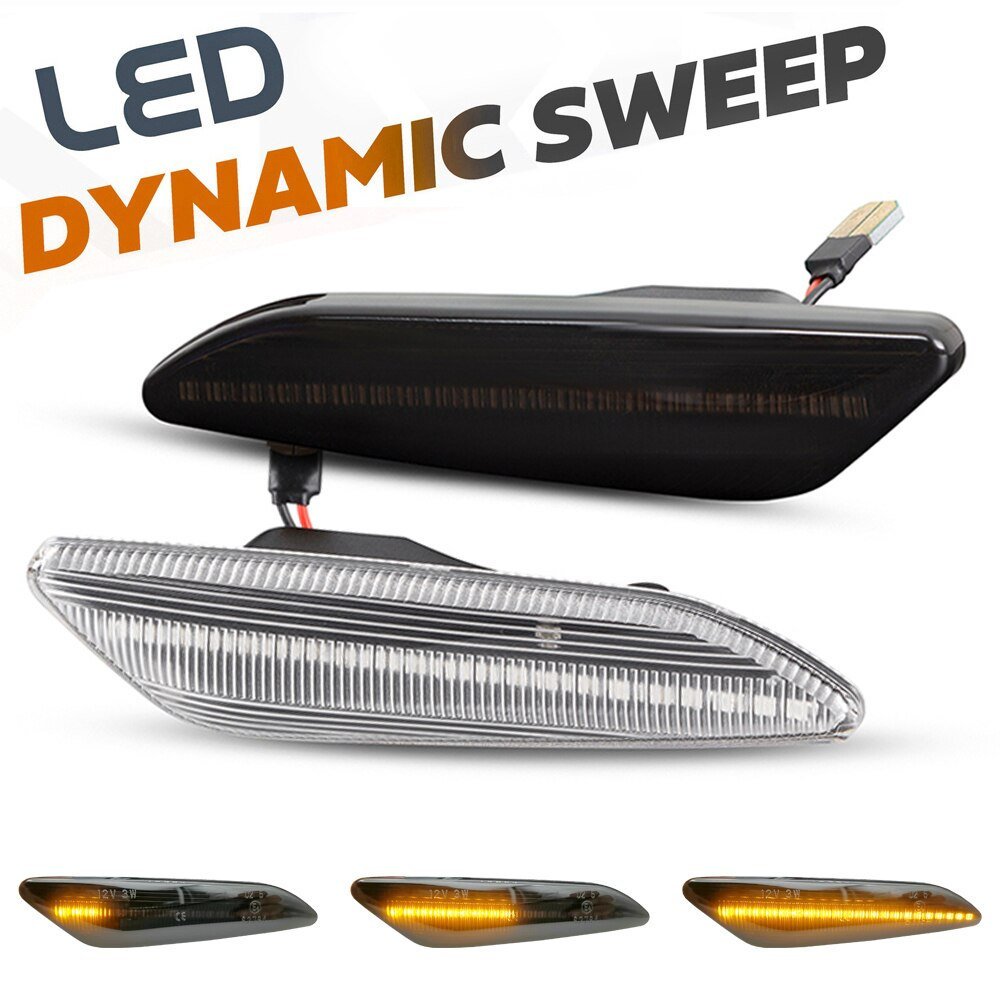 AliExpress - 2Pcs LED Dynamic Side Marker Lights Arrow Turn Signal Blinker Lamps For Lancia Delta MK3 Ypsilon / Fiat Tipo / Chrysler Ypsilon