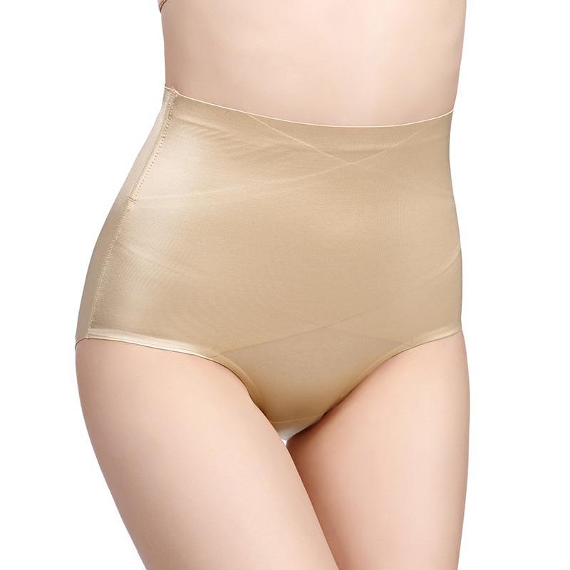 Bragas para adelgazar postparto bragas cintura alta ropa interior moldeador sin costuras ropa interior Adelgazante Body shapers # D