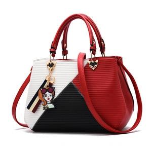 2021 Women Casual Totes Patchwork Handbag Party Purse Ladies Messenger Crossbody Female Shoulder Bags Women Handbags sac femme