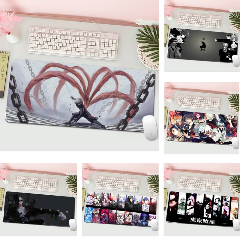 Tokyo Ghoul Durable Rubber Mouse Mat Pad L Large Gamer Keyboard PC Desk Mat Computer Tablet Gaming Mouse Pad