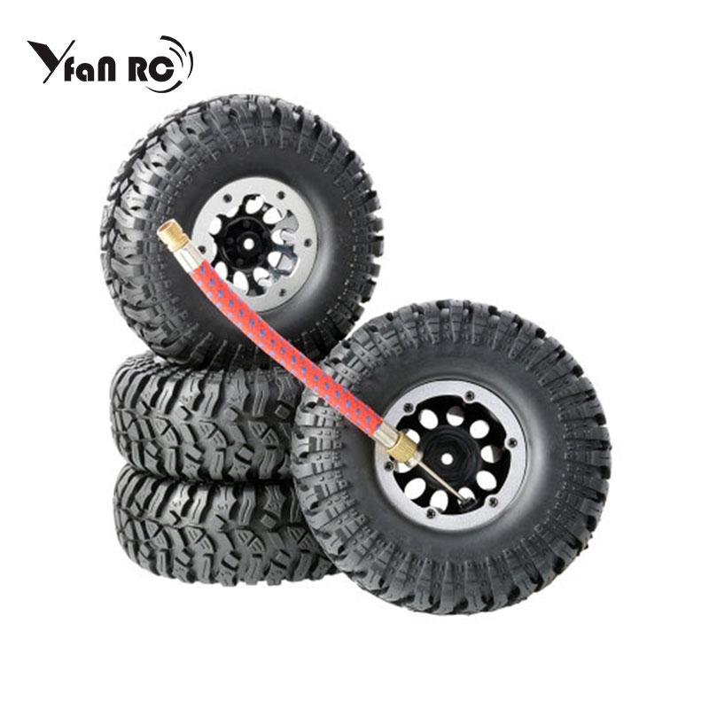 1 / 10 simulation climbing car 1.9-inch pneumatic tire diameter 114mm super soft gravel tire skin scx10 TRX4 TRX-4 climbing tire