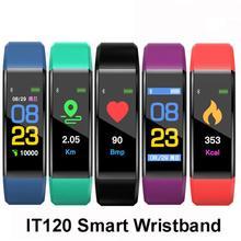 Sports Smart Bracelet Clock Heart Rate Blood Pressure Pedometer Waterproof Fitness Watch Men Steps Social Information Reminder