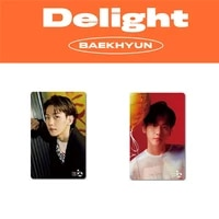 kpop delight baekhyun photocard postcard small cards for fans collection gifts 2pcsset f35