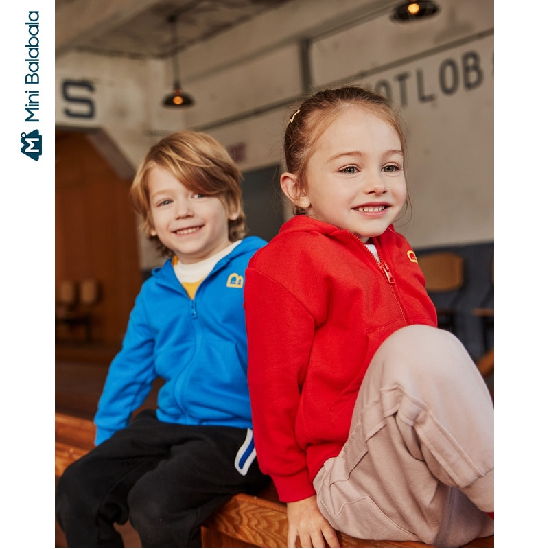 Mini Balla Coat 2020 primavera hombres y chaqueta con capucha chaqueta niños moda primavera y otoño ropa