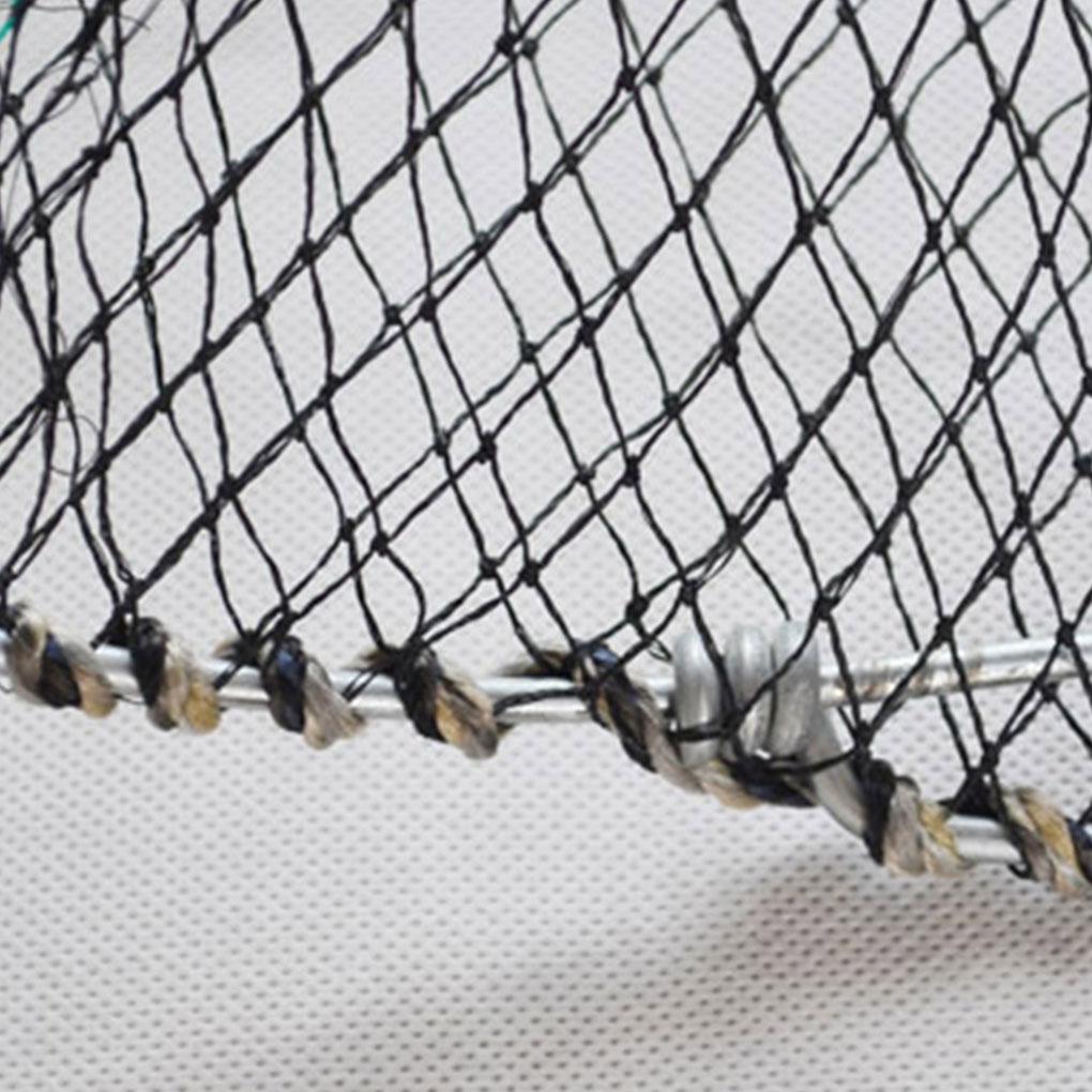Foldable Mesh Crab Crayfish Lobster Shrimp Prawn Hand Trap Fishing Net Fishing Network Fish Trap Cage enlarge