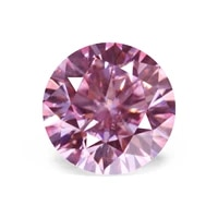pink moissanite stone beads 1ct6 5mm round 8 heart 8 arrow loose stone diamond diy material fine jewelry with certificate
