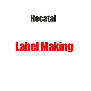 Hecatal Label Making