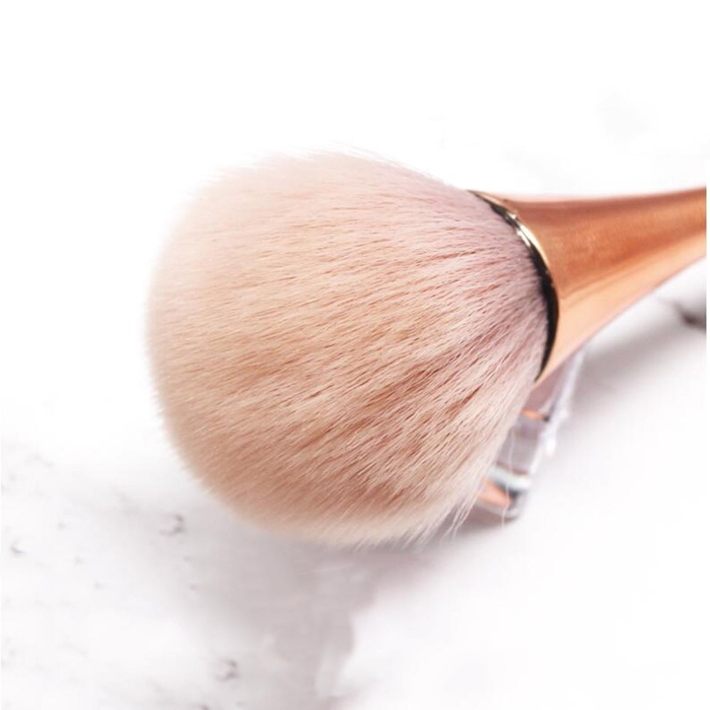 Купить с кэшбэком 3Colors Nail Dust Brush Long-holder Nail Art Soft Dust Cleaner Brush for Cleaning Manicure Brush UV Gel Powder Removal Tools tr1