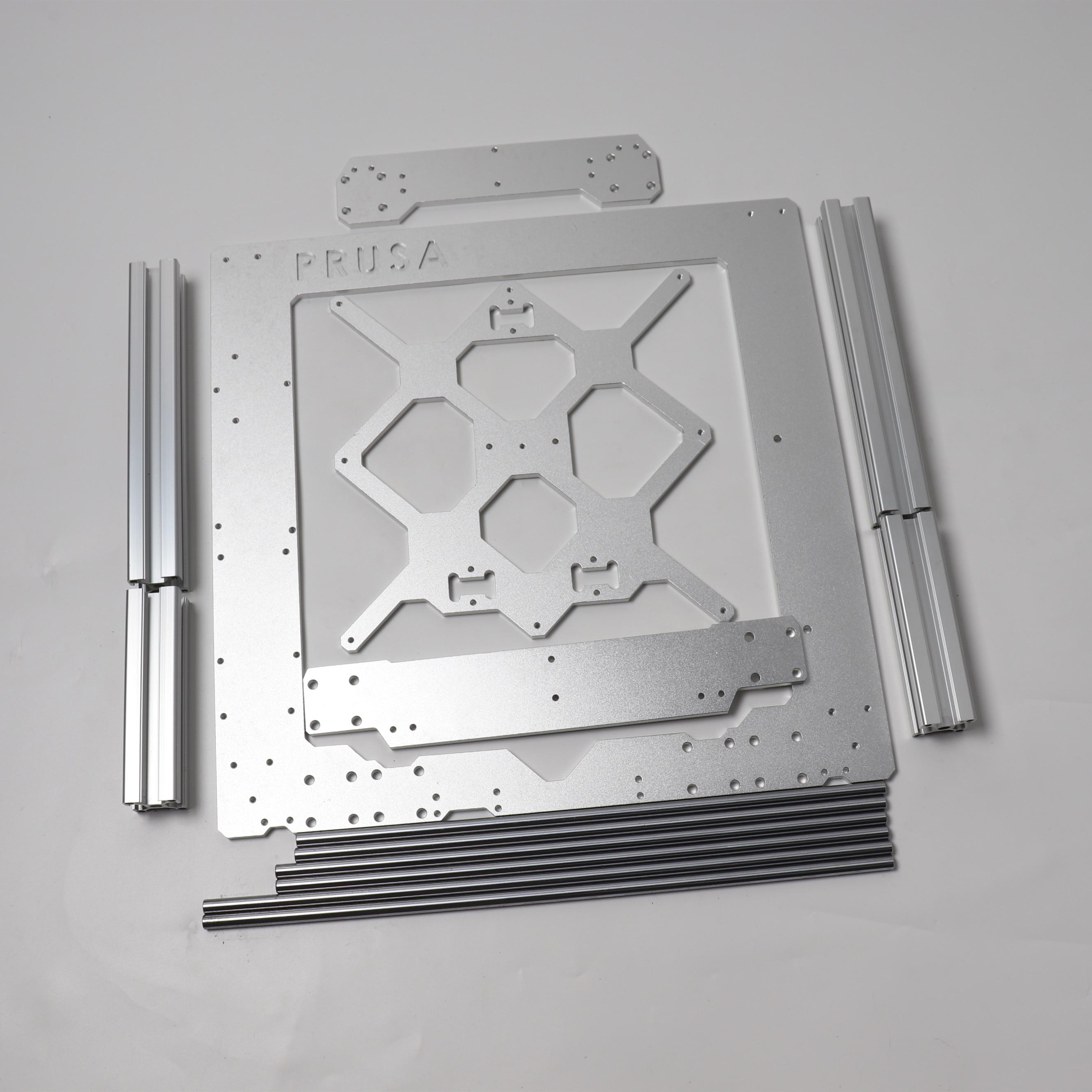 Prusa i3 MK3/MK3S 3d طابعة الألومنيوم إطار 3030 وملامح 8 مللي متر OD السلس قضبان كيت