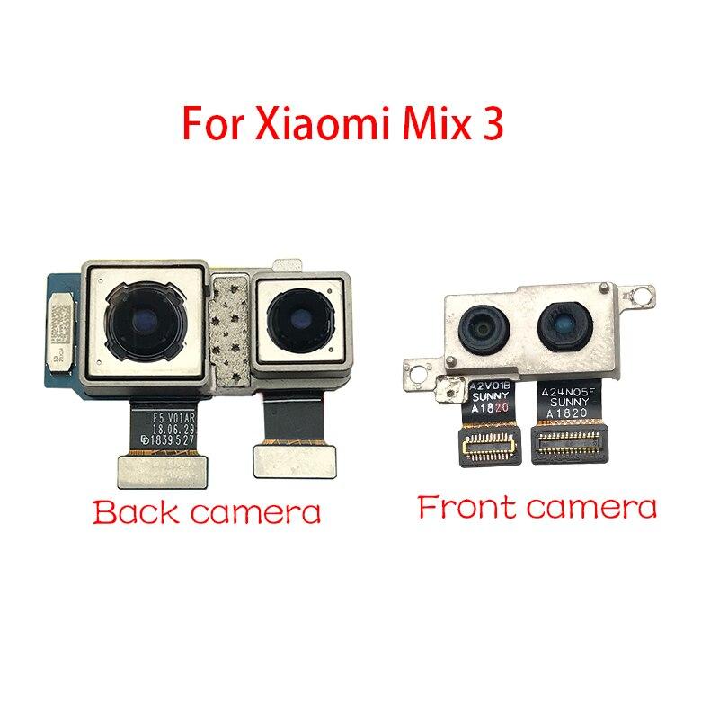 Nuevo módulo de cámara trasera Cable flexible para Xiaomi mi x 3 cámara frontal Flex Cable piezas de reparación