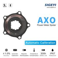 AXO Bicycle Power Meter MTB XT M8100 SLX 7100 Crank For SRAM AXS GXP ROTOR 3D Spider Crank Chain Wheel Bilateral Power Meter