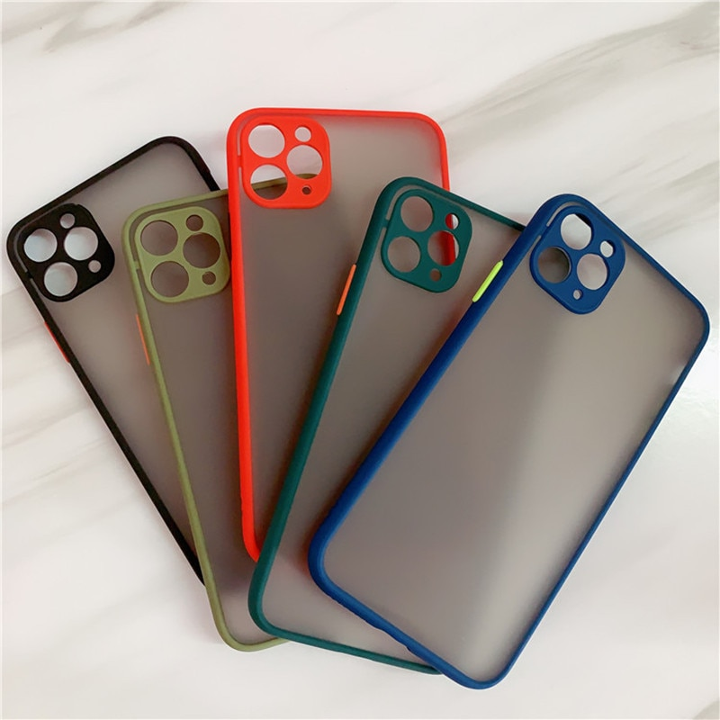 Shockproof Frame Huawei Phone Case For Huawei Camera Lens Protect Soft Back Cover