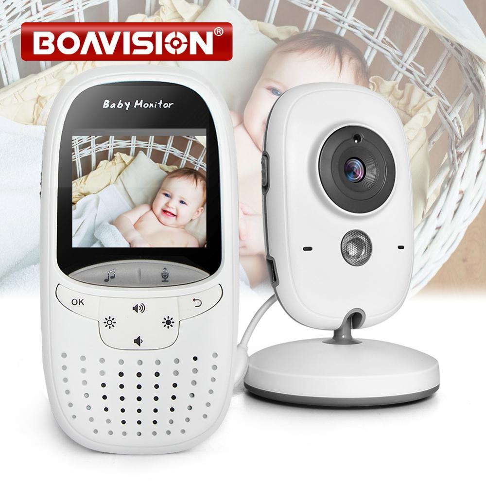 جهاز مراقبة الطفل بالفيديو VB602 ، شاشة للرؤية الليلية بالأشعة تحت الحمراء ، مراقبة درجة الحرارة ، الاتصال الداخلي ، وضع VOX ، كاميرا الأطفال ، ج...