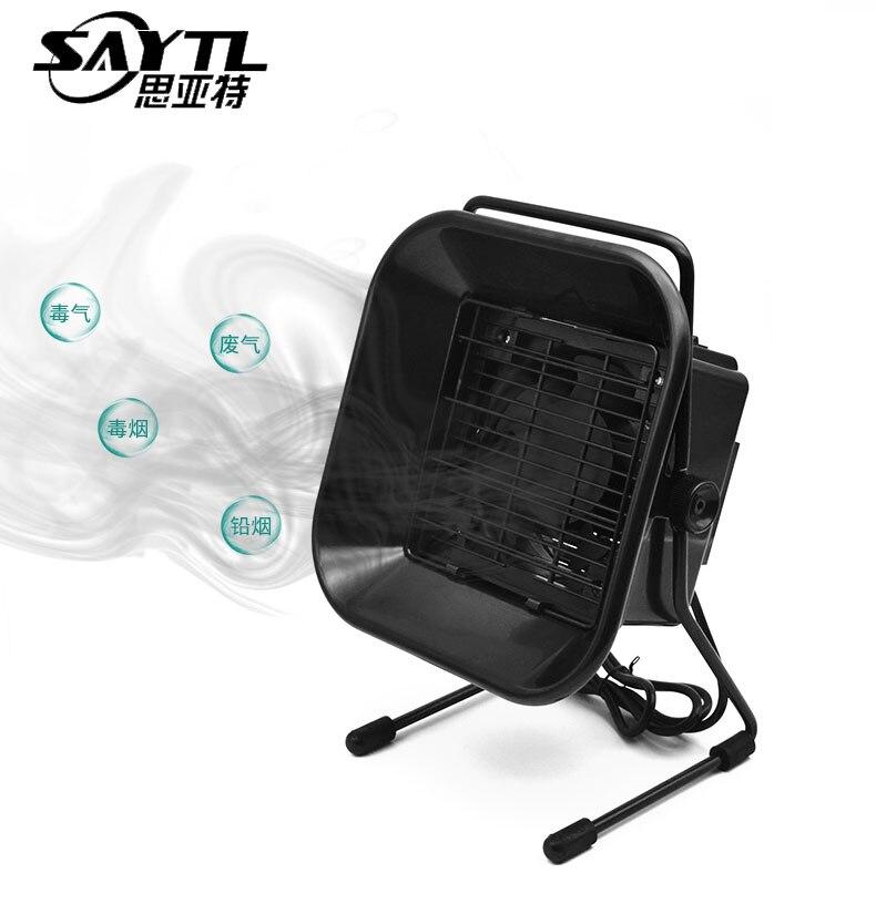 SAYTL soldador de hierro Extractor de soldadura Extractor de instrumentos de fumar para laboratorio en casa dispositivo purificador de fumar