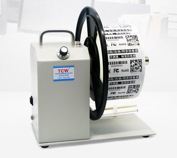 QQTCW-Q5 قابل للتعديل سرعة اتجاهين التلقائي متزامن تسمية اللف آلة