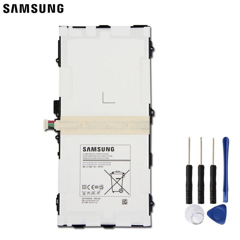 Samsung Original reemplazo de la batería de la tableta EB-BT800FBC para Samsung GALAXY Tab S 10,5 SM-T805c T800 T801 T805 T807 EB-BT800FBU