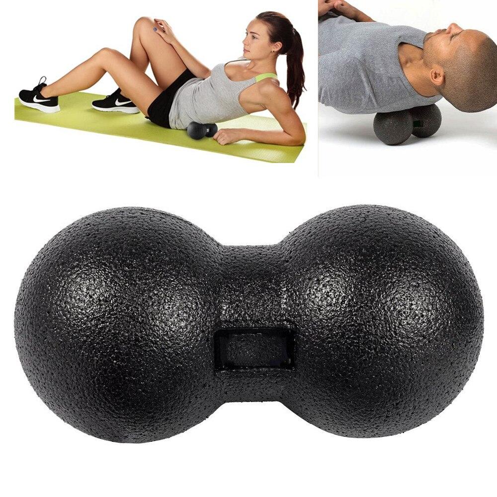 EPP арахисовый Массажный мяч Миофасциальный Релиз фитнес массаж роликовый триггер точечная терапия двойной Лакросс йога мяч упражнения для расслабления