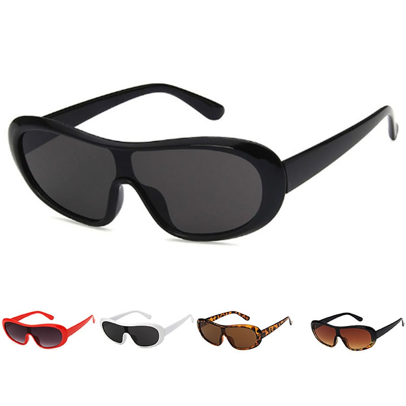 Vintage Oversized Sunglasses Women Men Big Frame Shade Sun Glasses Brand Designer Top Fashion Eyewea