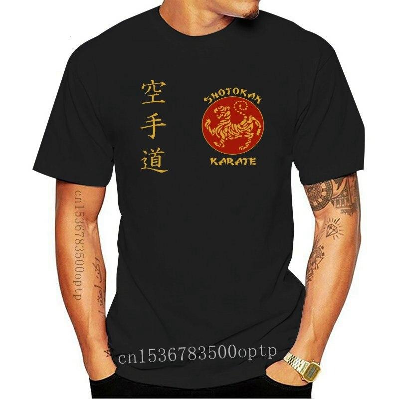 New Men 2021 Brand Clothing Tees Casual Funny Clothing Casual Short Sleeve Tee Shirts Shotokan Karate Martial Arter O Top T Shir