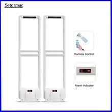Eas-systeem 58Khz Anti Diefstal Systeem Voor Retail Shop Afstandsbediening Door Afstandsbediening Geluid En Licht Alarm Gratis Verzending