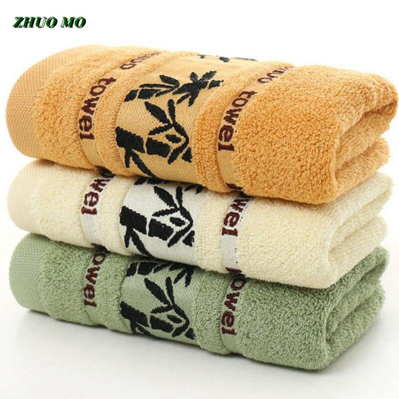 Полотенце для мытья рук ZHUO MO, 2/3 шт., черные чернила, бамбуковое, жаккардовое, ширина, толщина, мягкое, лучшее качество, для ванной комнаты, 3 цв...