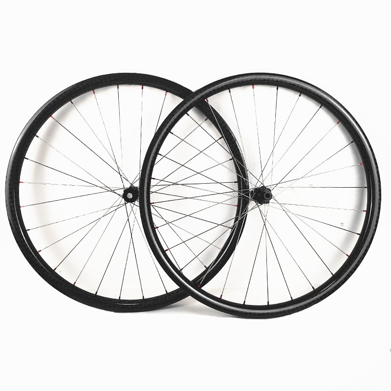 Disque carbone roues bicicleta aro 29 XC 30x30mm tubeless avec DT 180S 110x15 148x12 vtt vélo carbone roues titane alliage rayons