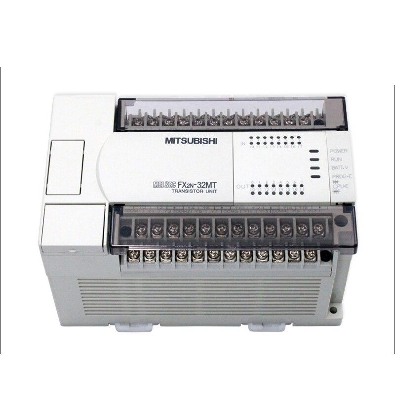FX2N-32MR-001 FX2N-32MT-001 PLC الأصلي مايكرو للبرمجة تحكم بنيت في 24 فولت تيار مستمر شبكة امدادات الطاقة والاتصالات البيانات