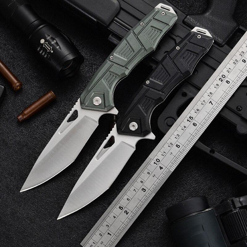Складной нож высокой твердости, тактические походные ножи для активного отдыха, походные ножи для альпинизма, складные ножи для активного о...