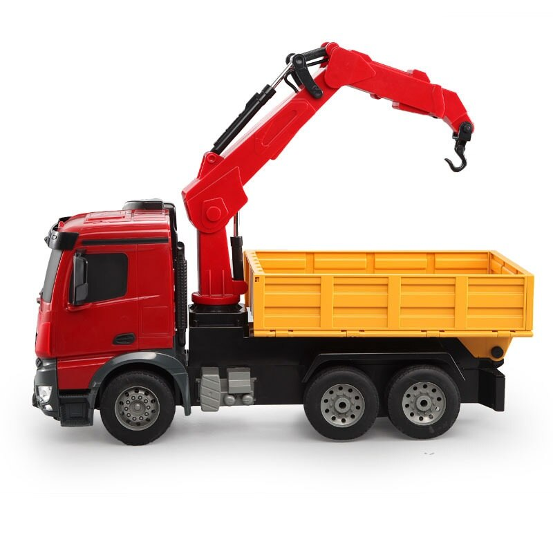 Simulation Remote Control Engineering Vehicle RC Truck 2.4G 1:20 Simulation Lifting Engineering Vehicle Big Crane Kids Toy Gift enlarge