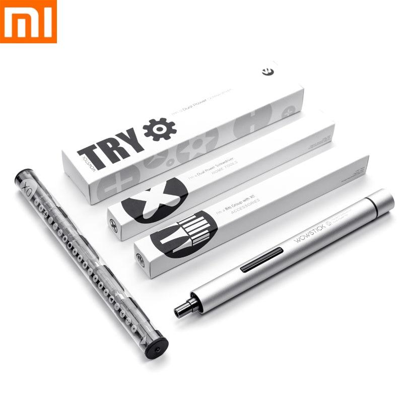 Destornillador eléctrico Xiaomi Wowstick, 1P + Pro, 23 en 1, inalámbrico, Kits de taladro mijia con soporte, herramientas de reparación Base