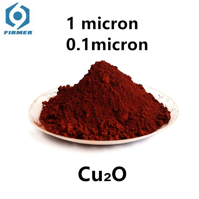 Ultrafine Copper(I) Oxide Red Powder Electrolytic Cuprous For Reductive 0.1 1Micron