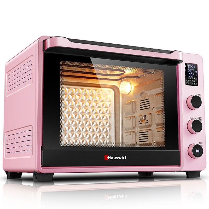 Horno eléctrico automático para hornear en casa, horno para pan y pasteles, Mini tostadora multifunción de 40 litros, máquina de tostado