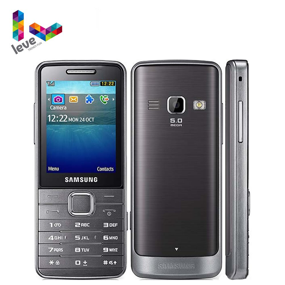"""Samsung S5610 S5611 GSM Unlocked Mobile Phone 2.4"""" FM Radio Bluetooth 5MP Refurbished Cellphone Support Russian Keyboard"""