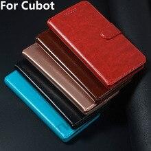 Étui à rabat en cuir de luxe pour Cubot P40 P30 R11 P20 H2 H3 J3 PRO NOVA Max arc-en-ciel 2 dinosaure X19 X18 Plus Note S Plus puissance