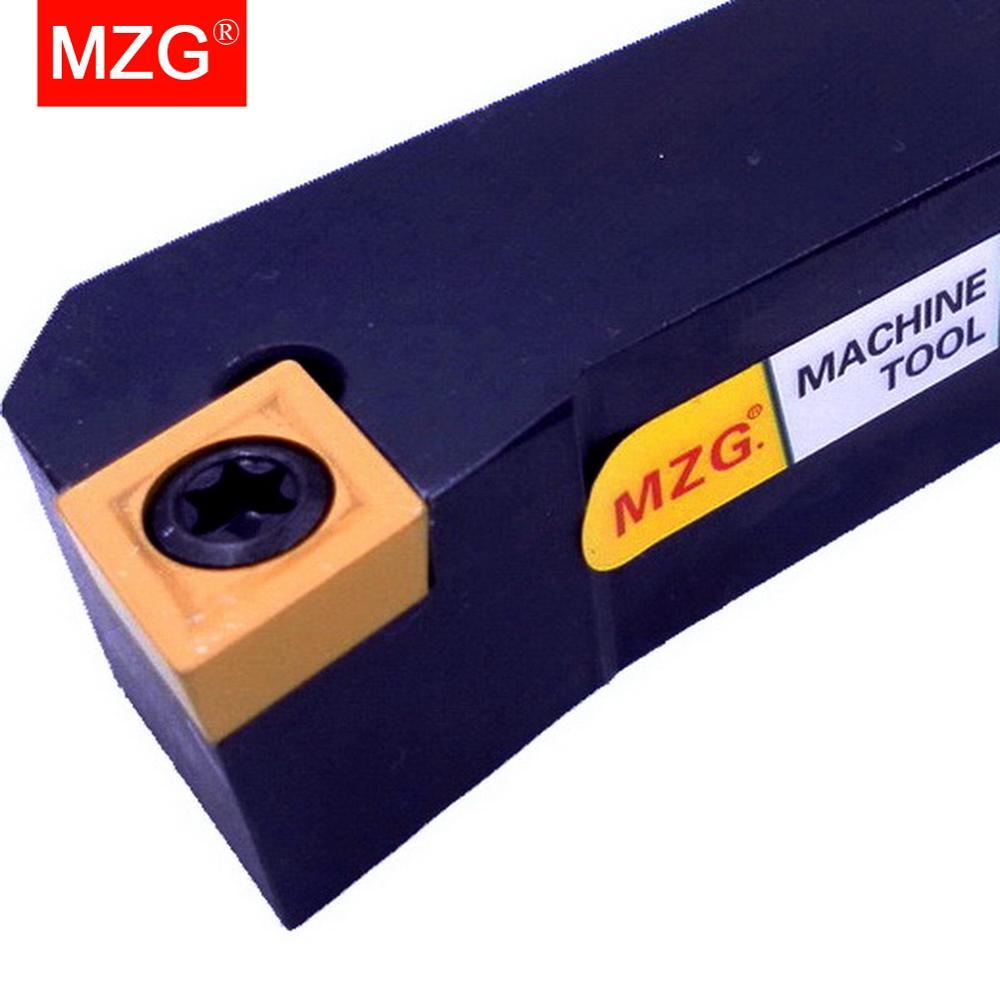 Купить с кэшбэком MZG 12mm 16mm SCFCR 1212H09 CNC Turning Arbor Lathe Cutter Bar Hole Processing Clamped Steel Toolholders External Boring Tool