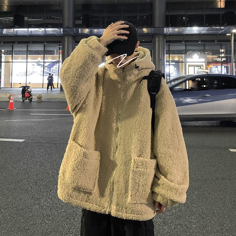 Мужская зимняя куртка 2021, Мужская Уличная одежда, парка в стиле хип-хоп, Корейская черная одежда, куртки-пуховики