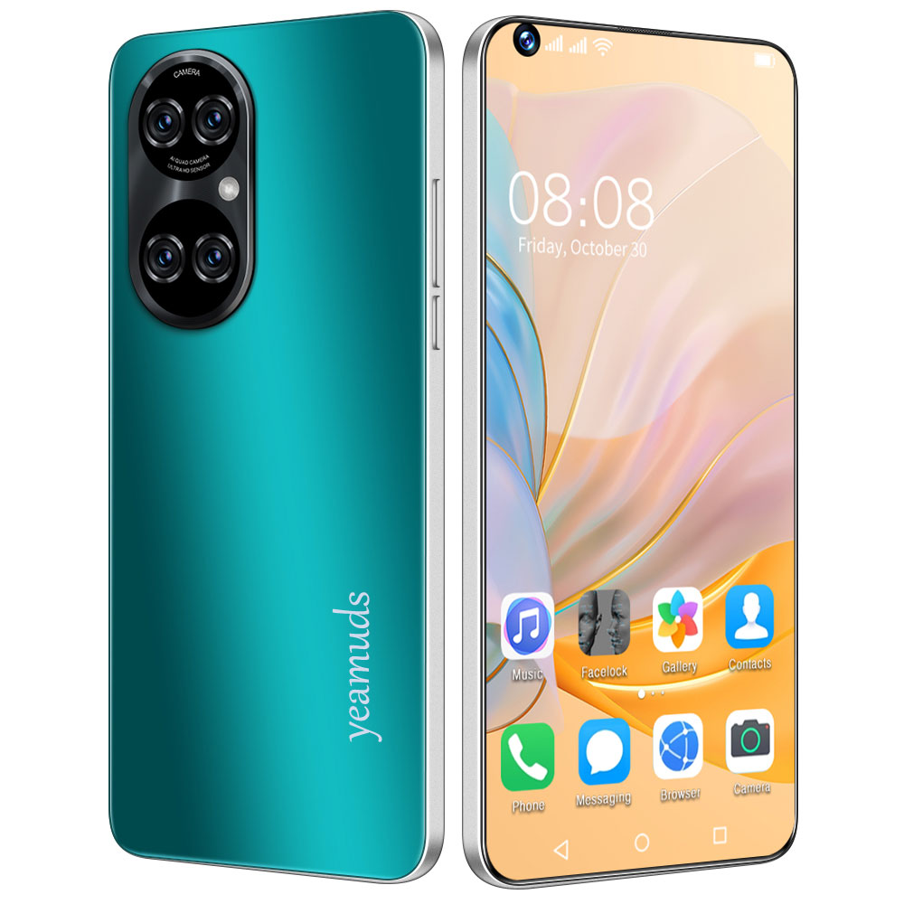 Global version Galay P50pro+ smartphones Ram 4GB+ Rom 64GB android mobile phoens 7.3 HDinch 5000mAh cellphones 10-core