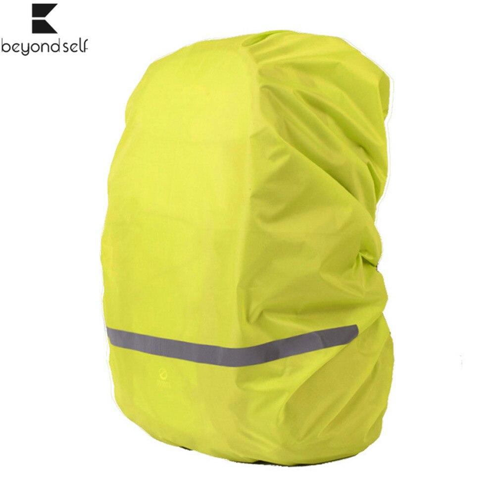 40L 50L 60L 70L reflexivo mochila impermeable cubierta mochila impermeable bolsa al aire libre Camping senderismo viaje impermeable para la noche